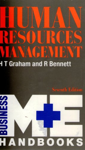 Human Resources Management (M & E Handbook: H.T., , Graham