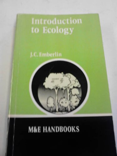 9780712109659: Introduction to Ecology (M & E Handbook Series)