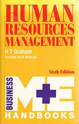 Human Resources Management (M & E Handbook: Graham, H.T. &
