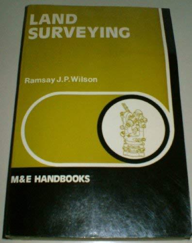 Land Surveying (Handbook Series): Wilson, Ramsey James