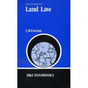 9780712112598: Land Law (Handbook Series)