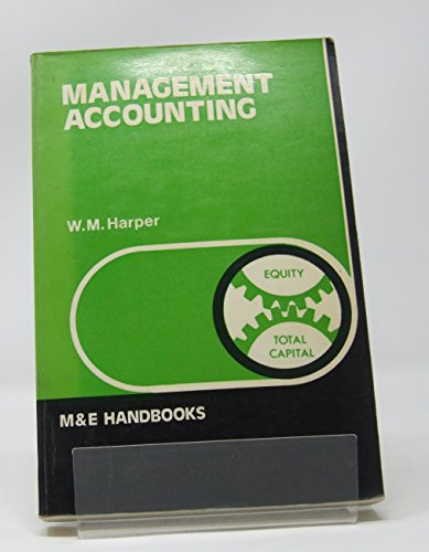 9780712113410: Management Accounting (Handbook Series)