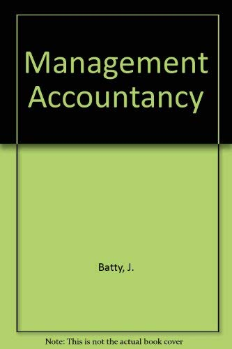 9780712113441: Management Accountancy