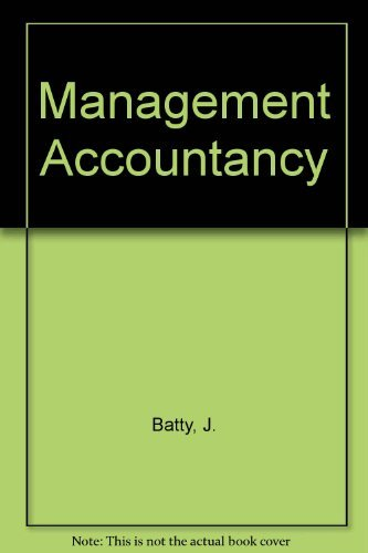 9780712113724: Management Accountancy