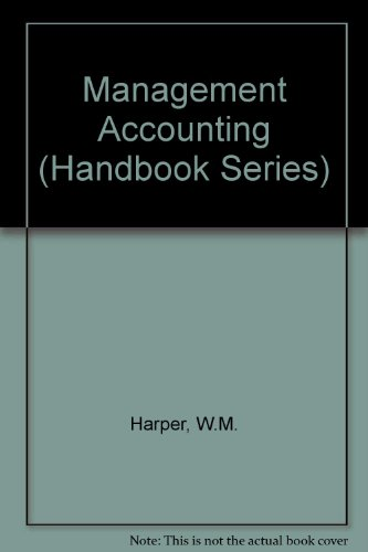 9780712113960: Management Accounting (Handbook Series)
