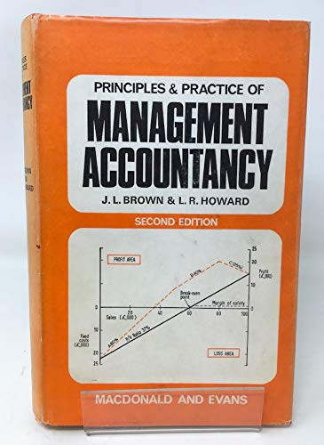 9780712116268: Principles and Practice of Management Accountancy