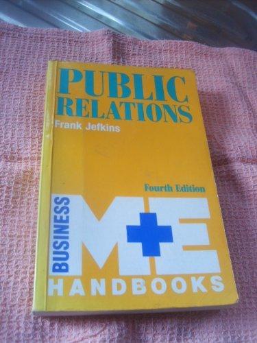 Public Relations Public Relations (M & E: Frank, , Jefkins