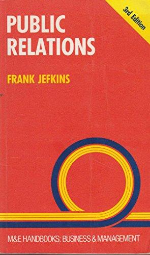 9780712117494: Public Relations (Handbook Series)