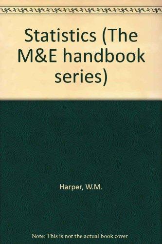 9780712118989: Statistics (The M&E handbook series)