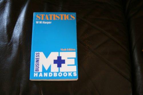 9780712118996: Statistics (M & E Handbook Series)