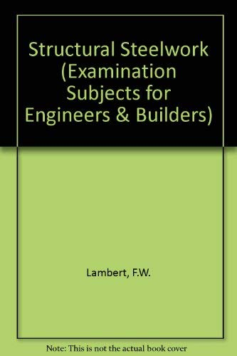 9780712119504: Materials and Structures (Examination Subjects for Engineers and Builders)