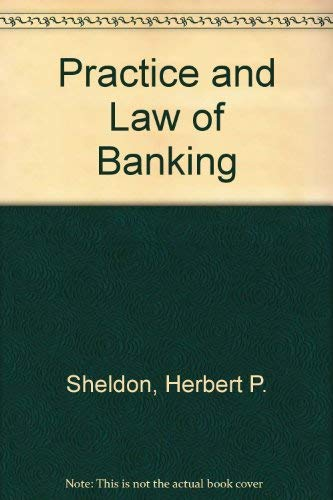9780712119788: Practice and Law of Banking