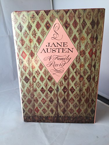 9780712301732: Jane Austen: A Family Record