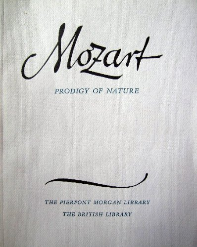 9780712302401: Mozart Prodigy of Nature