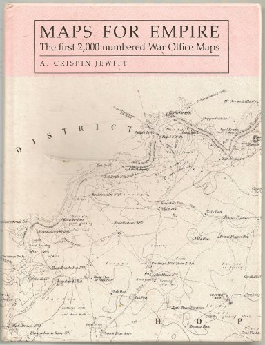 9780712302722: Maps for Empire: First 2, 000 War Office Maps