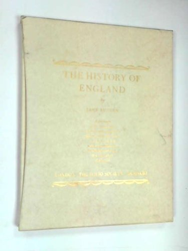 9780712302968: The History of England