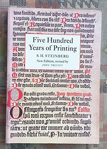 9780712304382: Five Hundred Years of Printing