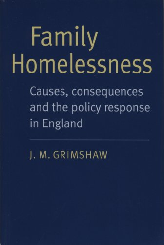9780712308823: Family Homelessness: Causes, Consequences and the Policy Response in England