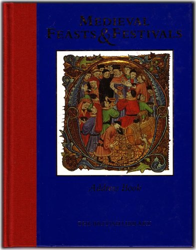 9780712345347: Medieval Feasts and Festivals Address Book