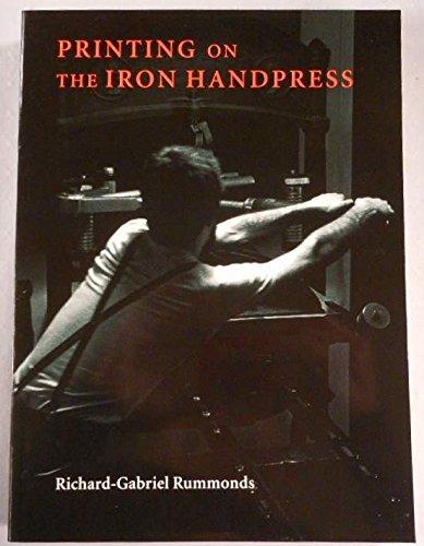 9780712345606: Printing on the Iron Handpress