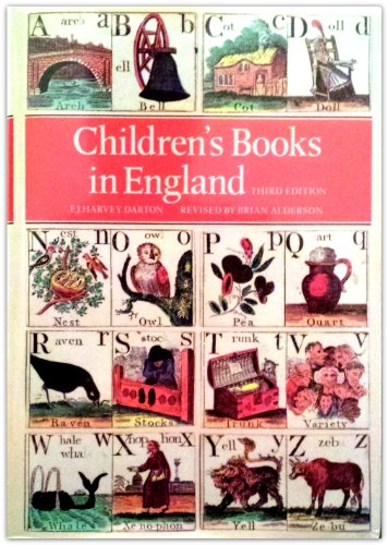 9780712346061: Children's Books in England: Five Centuries of Social Life