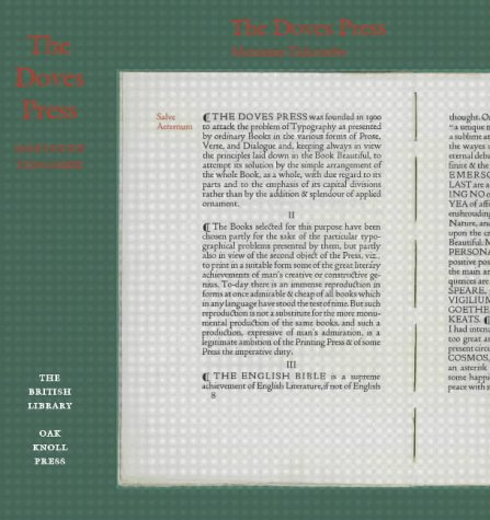 9780712347082: The Doves Press