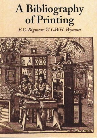 9780712347402: A Bibliography of Printing