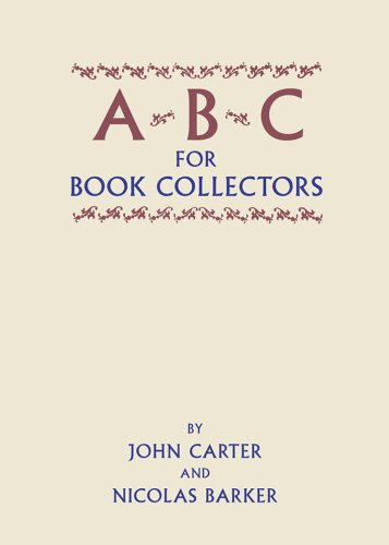 9780712348225: ABC for Book Collectors