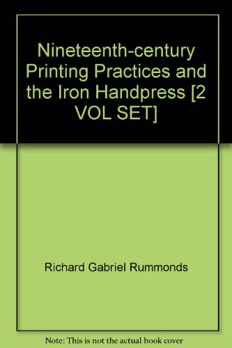 Printing on the Iron Handpress