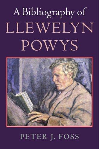9780712349352: A Bibliography of Llewelyn Powys