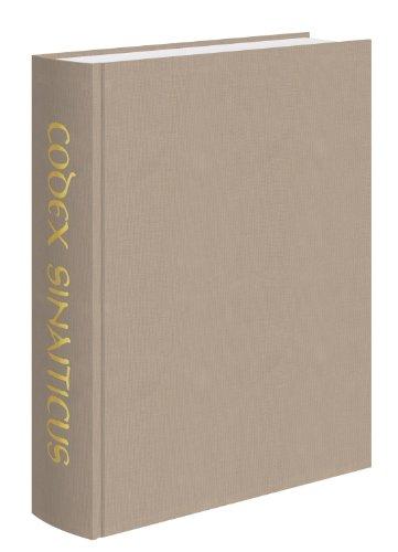 9780712349987: Codex Sinaiticus: A Facsimile