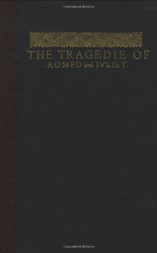 9780712350334: The Tragedie of Romeo and Juliet: A Facsimile from the First Folio