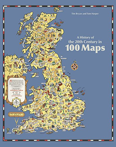 9780712356602: A History of the 20th Century in 100 Maps