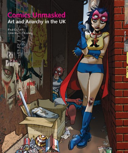 BRITISH COMICS: Gravett, Paul, Dunning, John Harris