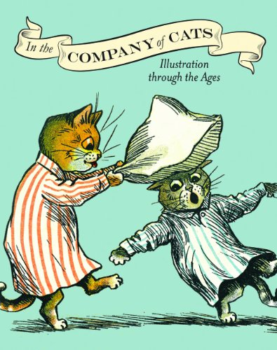 9780712357500: In the Company of Cats: Illustration Through the Ages