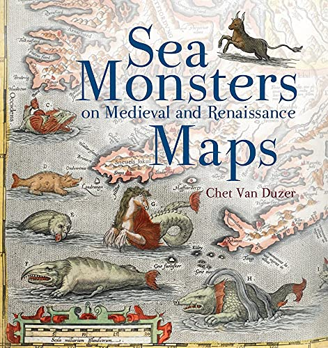 9780712357715: Sea Monsters on Medieval and Renaissance Maps