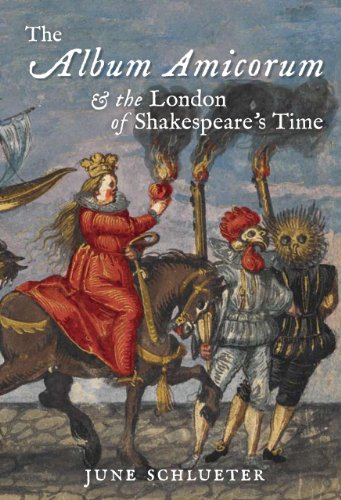 9780712358385: The Album Amicorum and the London of Shakespeare's Time