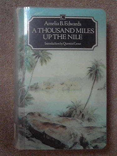 9780712600378: A Thousand Miles Up the Nile (Traveller's)