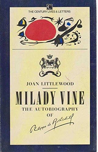 9780712608053: Milady Vine: Autobiography (Lives & Letters)