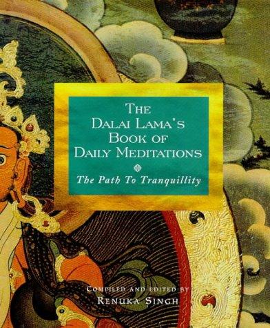 9780712608985: The Dalai Lama's Book of Daily Meditations