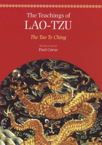 9780712608992: The Teachings of Lao-tzu: The Tao-Te Ching