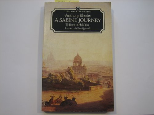 9780712617062: A Sabine Journey: To Rome in Holy Year Century Traveller (The Century travellers)