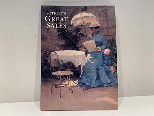 SOTHEBY'S GREAT SALES: Sotheby