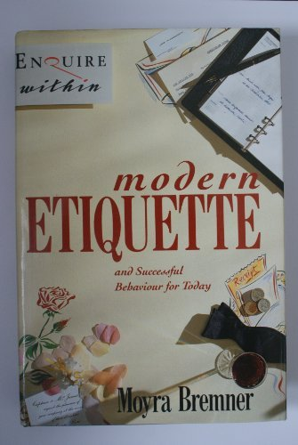 9780712630726: Enquire Within Upon Modern Etiquette: And Successful Behaviour for Today