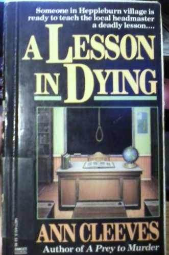 9780712634151: A Lesson in Dying