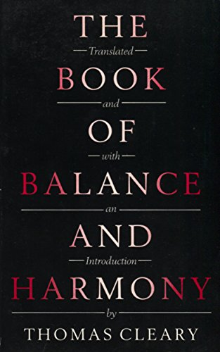 9780712635219: The Book of Balance and Harmony