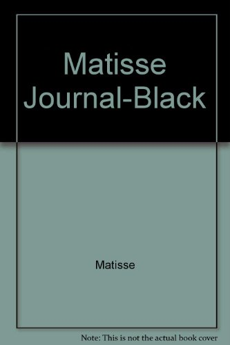9780712645478: Matisse Journal-Black