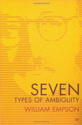 9780712645577: Seven Types of Ambiguity