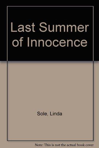 9780712645805: The Last Summer of Innocence