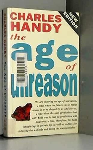 9780712649315: The Age of Unreason